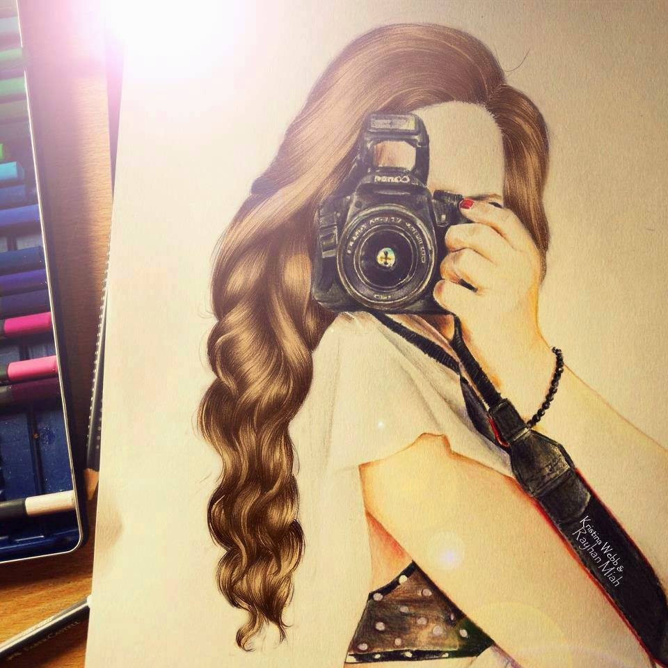 Amazing Hair Drawings By Debby Arts Amp Kristina Webb Challebrown S Blog