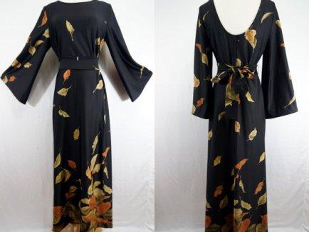 1970's Edith Flagg maxi dress